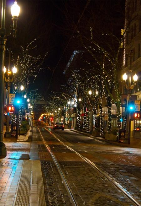Portland street lights