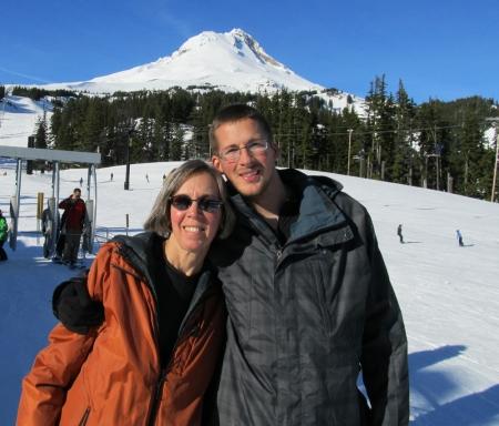 Mt Hood w Ann Charles