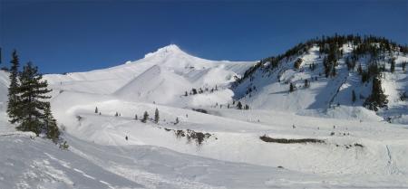 Mt Hood White River Panorama