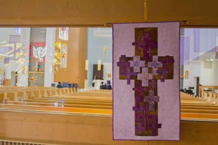 Lenten Banner inside