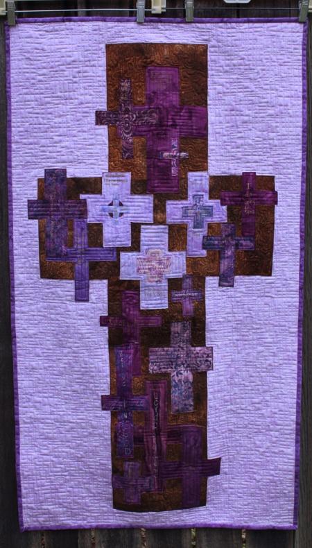 Lenten Banner Quilt 2013