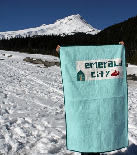 Emerald City back by Mt Hood