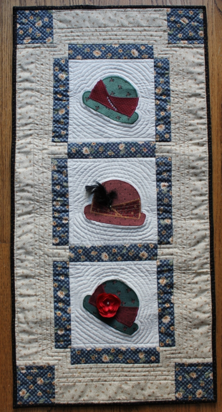 Hat wall hanging