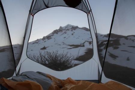 Paradise Park in tent am