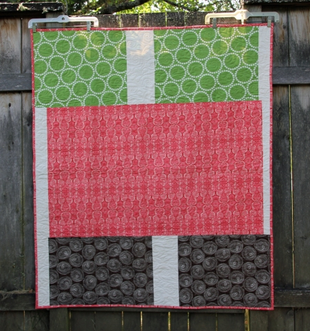 Mystery Quilt 2013 back