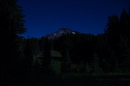 camp 3 at night