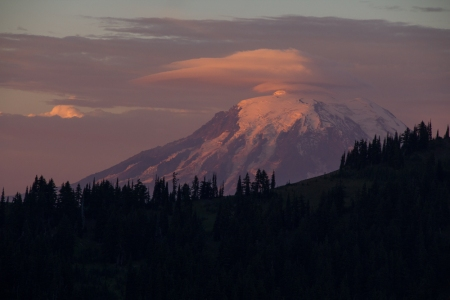 sunrise mt adams