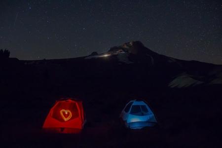 tent heart