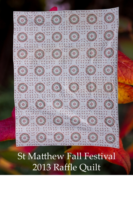 Fall Festival quilt card