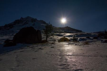 Moon over Paradise Park