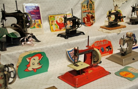 Toy Sewing Machines closer