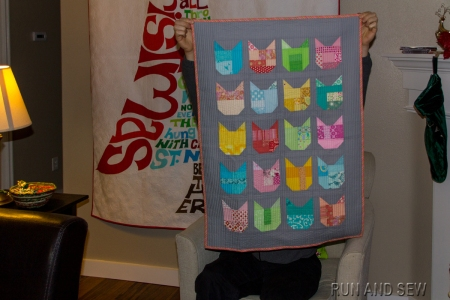 Oh Fransson Cat Quilt Two