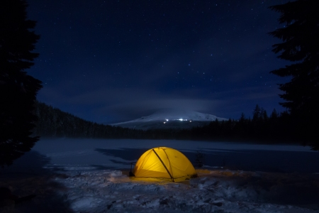 Tent and Timberline
