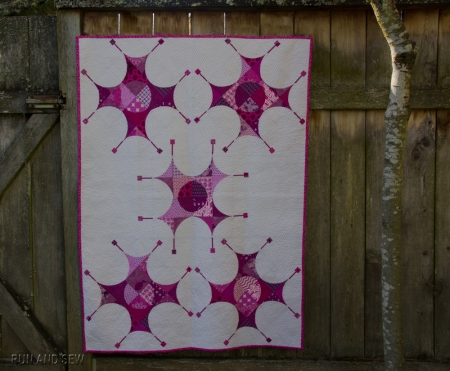 Pantone 2014 Challenge Large Quilt
