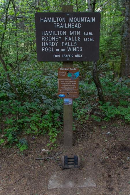 Hamilton Mountain Trailhead