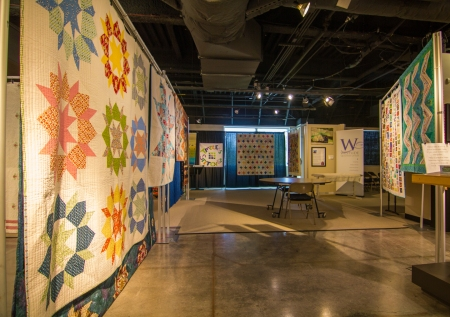 Featured Quilter Display