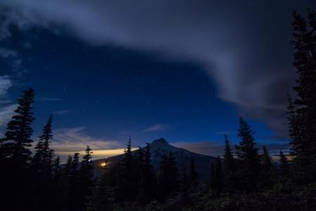 Night Sky Gunsite ridge