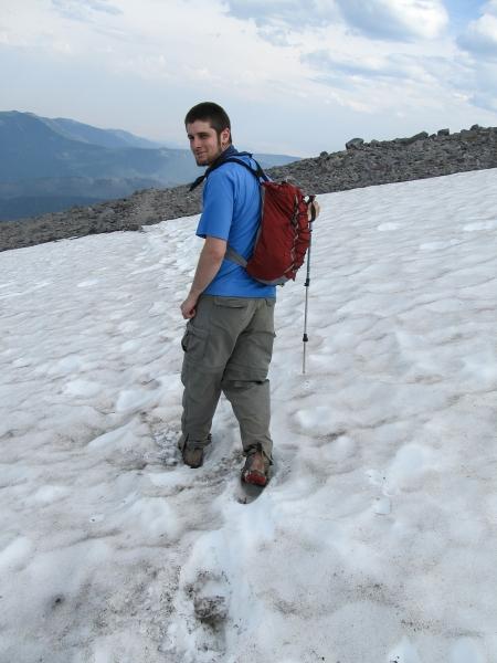 Andrew Walking Cooper Spur