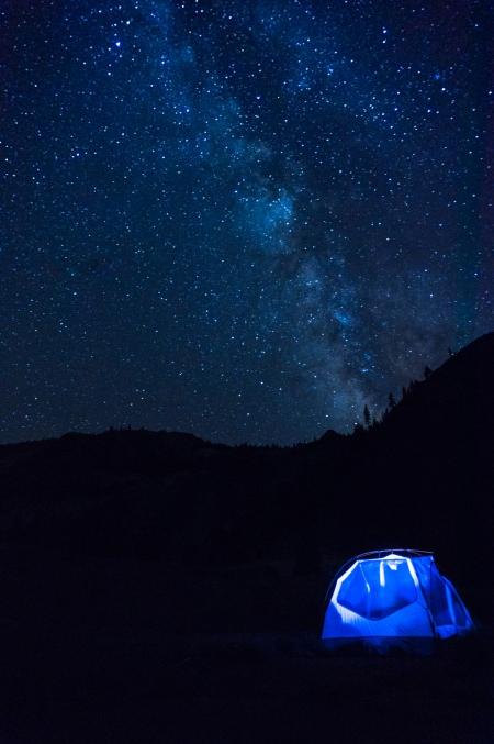 DSC00775-Waterwheel Falls Milky Way