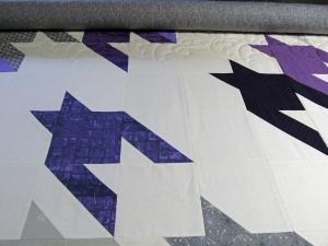 Bats being quilted