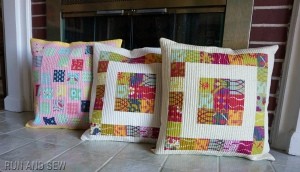 Lucky Penny pillows plus one