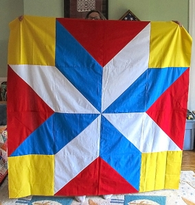 Barn Quilt front