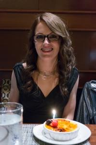 Sarah Birthday dessert