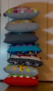 Pillows Stacked