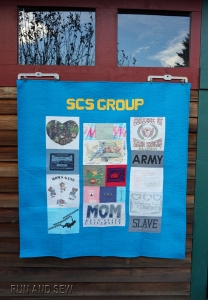 SCS Group Barn Quilt Back