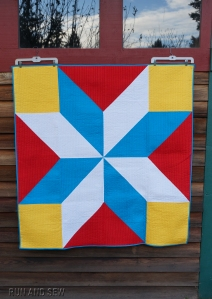SCS Group Barn Quilt