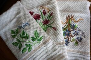 Carole wash cloths