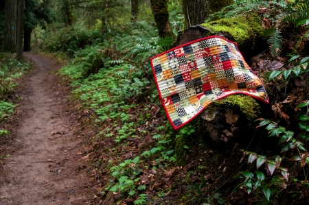 Quilt by Wildwood Trail