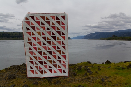 Pantone Quilt 2015 Gorge Viewpoint