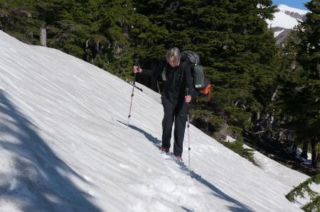 Ann Crossing Snow field