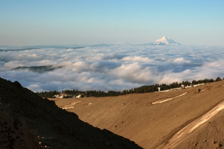 Jefferson above clouds