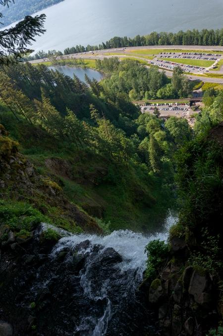 Multnomah Falls Top Viewpoint