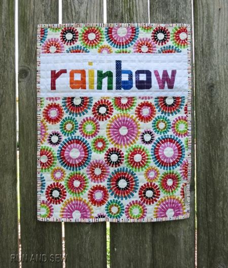 Rainbow Mini back