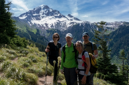 Family Bald Mountain view