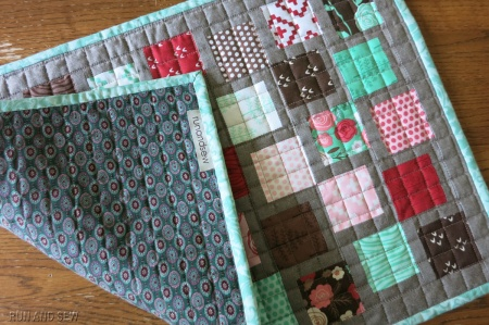 Molly doll quilt w back