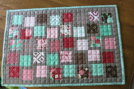 Molly doll quilt