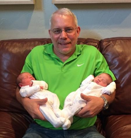 John and twins