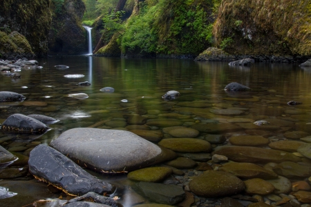 Punchbowl Falls Rocks