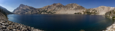 Sawtooth lake Pano