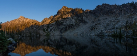 Trail Creek Lake Pano