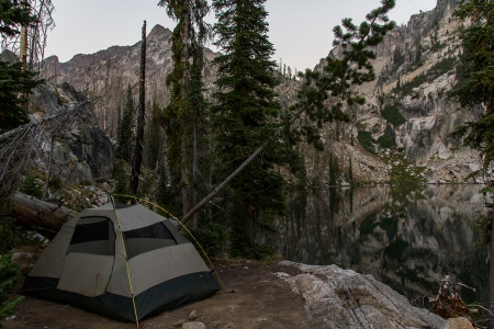 Trail Creek Lake Tent