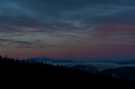 Mt Jefferson Morning