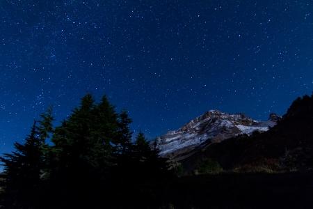 Yocum Ridge Night Sky