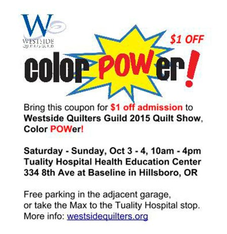 Color POWer! Coupon 400 p