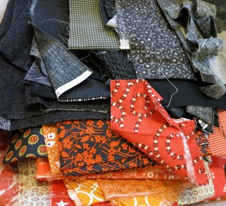 Halloween fabric pull