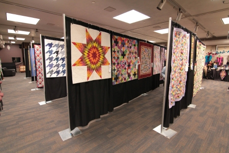 Quilts from right
